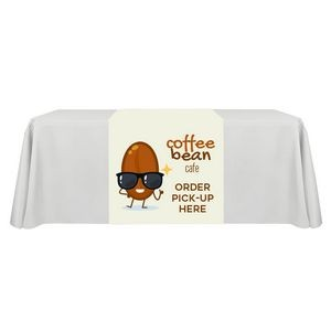 "36"" x 63"" Table Runner Polyester Full Color Dye Sublimation"