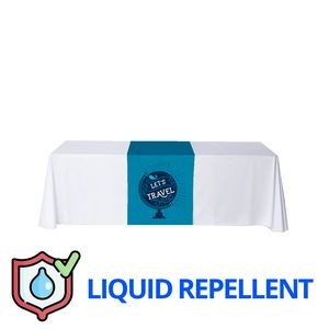 "24"" x 84"" Liquid Repellent Table Runner Polyester Full Color Full Bleed Dye Sublimation"