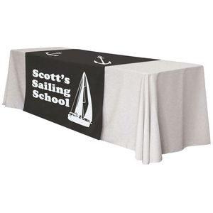 Custom Size Table Runner Polyester Full Color Dye Sublimation. Price per Sq Ft.
