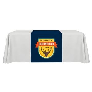 "30"" x 60"" Table Runner Polyester Full Color Dye Sublimation"