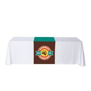 "24"" x 63"" Table Runner Polyester Full Color Dye Sublimation"