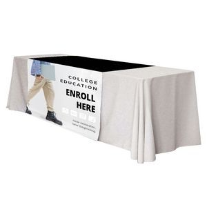 "48"" x 63"" Table Runner Polyester Full Color Dye Sublimation"