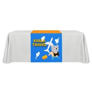 "30"" x 72"" Table Runner Polyester Full Color Dye Sublimation"