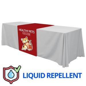 "36"" x 84"" Liquid Repellent Table Runner Polyester Full Color Full Bleed Dye Sublimation"