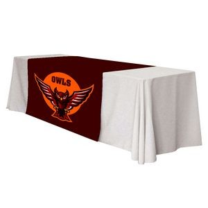 "60"" x 84"" Table Runner Polyester Full Color Dye Sublimation"